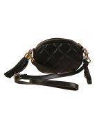 Moschino Tassel Detail Shoulder Bag - black