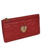 Dolce & Gabbana Devotion Long Card Case - Red