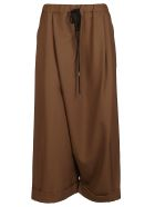 Marni Brown Virgin Wool Trousers - Brown