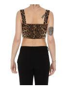 Dolce & Gabbana Leopard Print Top - leopard print