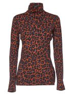Paul Smith Orange T-shirt With Animal Print - Multicolor