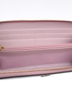Furla Embellished Zipped Around Wallet - Camelia