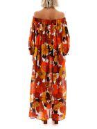 Dodo Bar Or Floral Printed Jullie Dress - ORANGE BROWN (Orange)