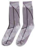 A-COLD-WALL 'shard Graphic' Socks - Grey