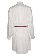 Versace Belted Dress - White