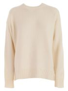 Sofie d'Hoore Sweater L/s Round Neck Cashmere - Off White
