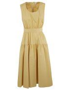 Aspesi Midi Flared Dress - YELLOW