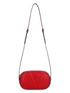 Valentino Valentino Garavani - Vlogo Walk Leather Camera Bag - red