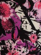 Rotate by Birger Christensen Nancy Dress L/s W/belt Printed - Cherry Flowers Aop