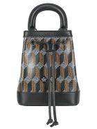 Au Départ Au Depart Bucket Bag - Black monogram