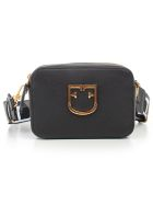 Furla Logo Plaque Cross Body Bag - Onyx