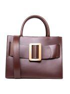 BOYY Bobby 32 Oxblood Smooth Leather Handbag - Oxblood