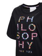 Philosophy di Lorenzo Serafini Printed T-shirt - Black