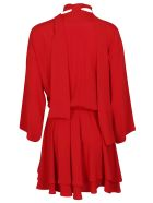 8PM Flared Dress - Red