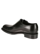 Christian Dior Logo Plaque Monk Shoes - Black
