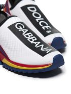 Dolce & Gabbana Sorrento Slip-on Sneakers - Bianco multicolor