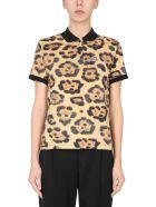 Lacoste Cotton Piqué Polo Shirt - BEIGE