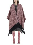 Gucci 'dimheart' Cape - Pink