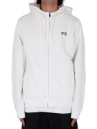 Y-3 Ch1 Graphic Hoodie - White - Bianco/rosso