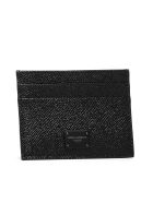 Dolce & Gabbana Logo Patch Card Holder - Nero