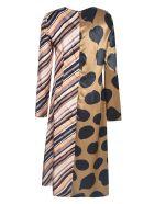 Marni Multi-printed Long Dress - Paw35