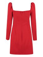 RED Valentino Crepe Mini Dress - red
