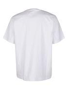 MSGM White Cotton T-shirt - White
