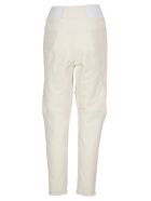 Stella McCartney Faux Leather Biker Pants - PURE WHITE