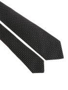 Kiton Silk Tie - Black