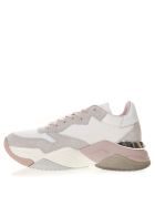 Crime london Mercer Multicolor Suede & Nylon Sneakers - Multicolor