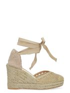 Castañer Carrie Wedge Espadrilles - Gold