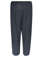 A Punto B Cropped Wide-leg Trousers - Black