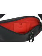 Alexander McQueen Harness Belt Bag - Black/lust red/black