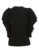 See by Chloé Flared Blouse - .black