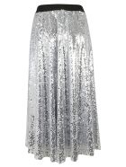 In The Mood For Love Sequined Skirt - Silver