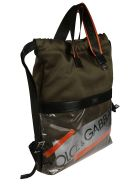 Dolce & Gabbana Street Logo Tape Backpack - MULTICOLOR