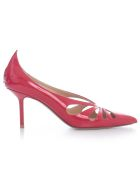 Francesco Russo Pumps Patent 75 Heel - Red