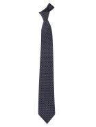 Salvatore Ferragamo Patterned Tie - Marine/ciel