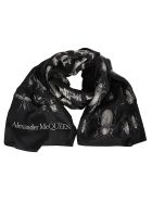 Alexander McQueen Insect Scarf - Black