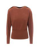 SportMax Sweater - Brown