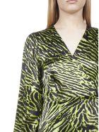 Ganni Dress - Lime tiger