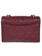 Tory Burch Quilted Shoulder Bag - Imperial Garnet