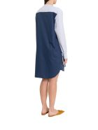 Cedric Charlier Layering Dress - Blu