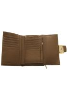 Coccinelle Sand Leather Wallet With Buckle - Sand
