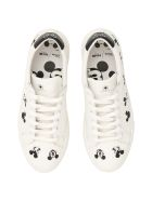 M.O.A. master of arts Leather Disney Sneakers - WHITE MULTI|Bianco
