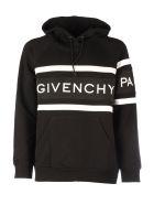 Givenchy *sweatershirt Logo With Hood - Black