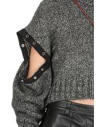 McQ Alexander McQueen Genesis Ii Pressed Stud Crew Sweater - Darkest Black