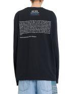Calvin Klein Ec Graphic Printed Sweatshirt - Nero