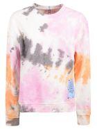 McQ Alexander McQueen Logo Patch Detail Sweatshirt - Multicolor