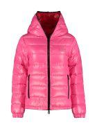 Duvetica Kumadue Hooded Short Down Jacket - Pink